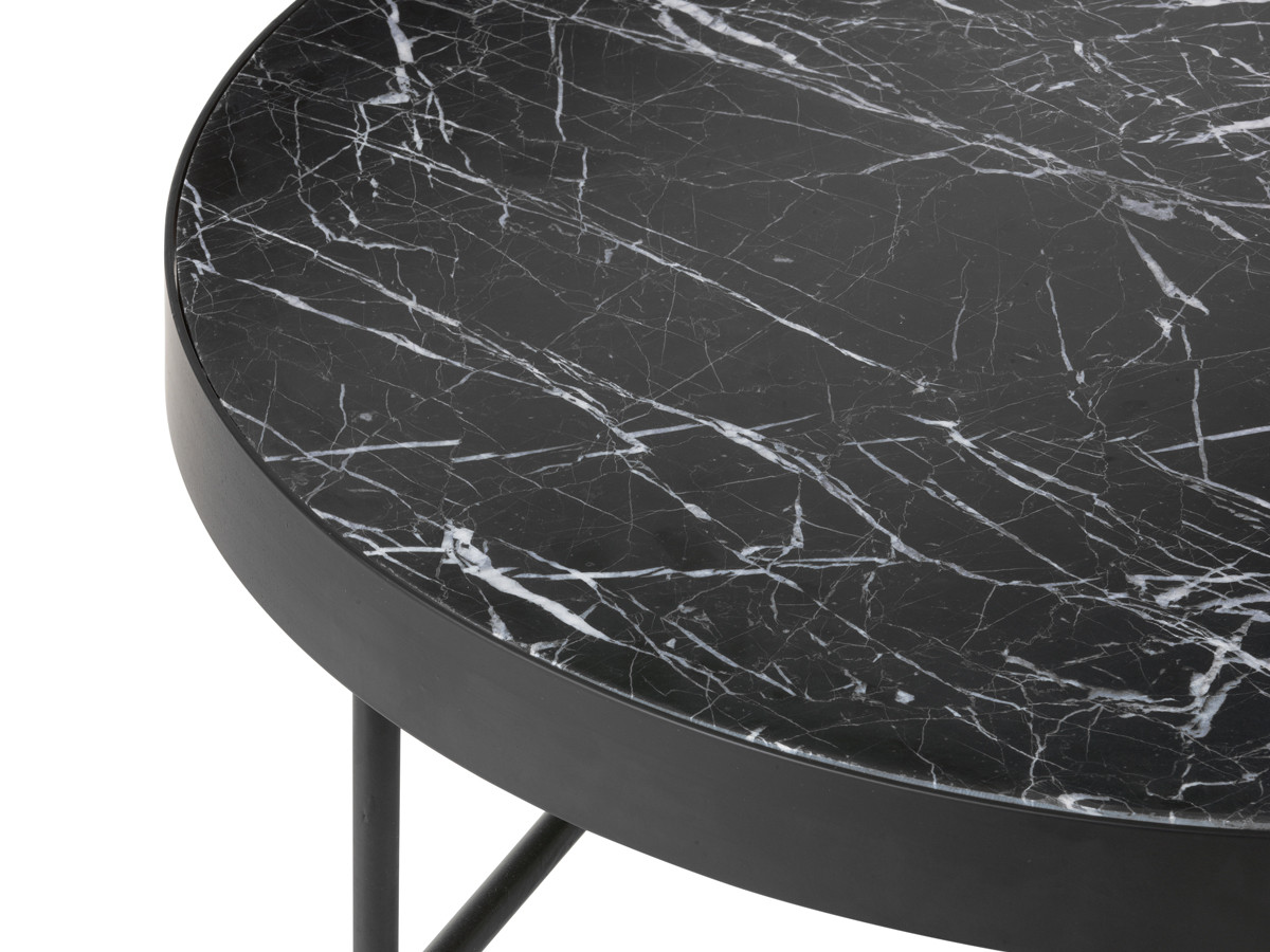 Marble table top -  Ferm Living Marble Table Black