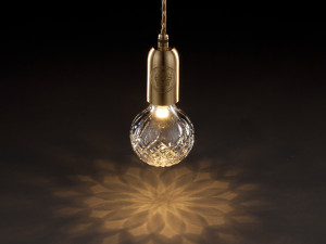 View Lee Broom Crystal Bulb With Pendant Fitting