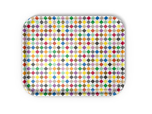 Vitra Classic Tray Large Diamonds Multicolour