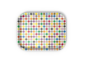 View Vitra Classic Tray Medium Diamonds Multicolour