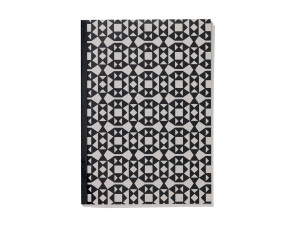 Vitra Notebook Softcover A5 Facets Black