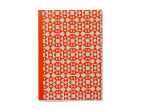 Vitra Notebook Softcover A5 Facets Orange