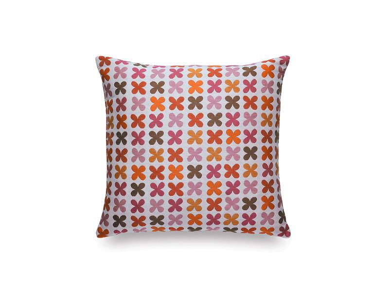 Vitra Classic Pillow Quatrefoil Pink
