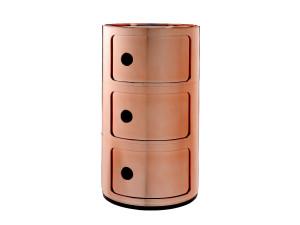 View Kartell Componibili Round Storage Copper