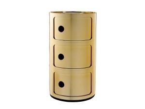 View Kartell Componibili Round Storage Gold