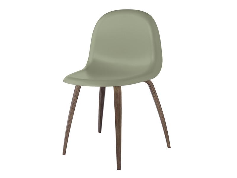 Gubi Chair with Walnut Base