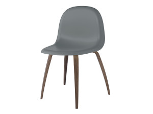 View Gubi Chair with Walnut Base