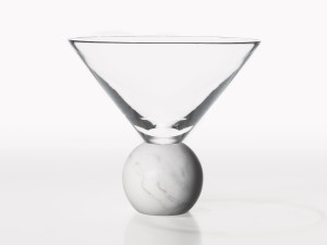 View Lee Broom On The Rock Martini Glass