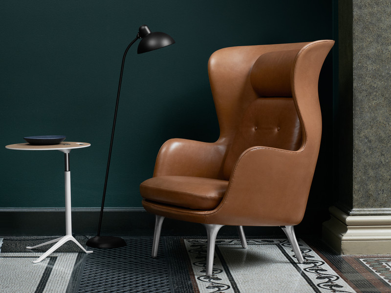 Fritz Hansen Ro Easy Chair Elegance Leather