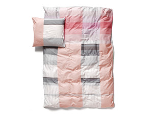 View Hay Colour Block Bed Linen Pink
