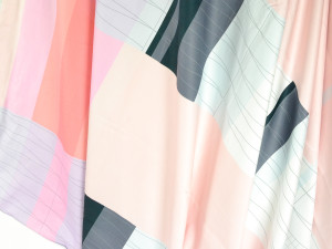 Hay Colour Block Bed Linen Pink