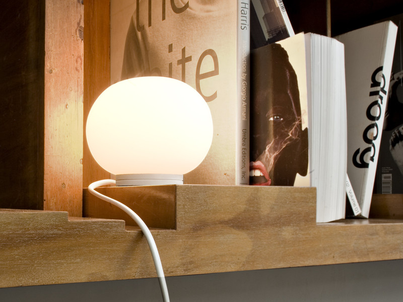 Buy The Flos Mini Glo Ball Table Lamp At Nest Co Uk