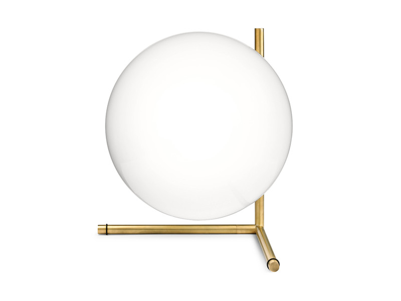 Buy the Flos IC T2 Table Lamp at Nestcouk : Flos IC T2 Brass from www.nest.co.uk size 800 x 600 jpeg 19kB