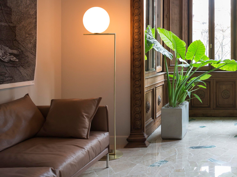the nest buy floor at light lamp lights co ic uk product brass flos lifestyle