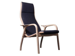 View Swedese Lamino Easy Chair by Nudie Jeans Denim Unwashed