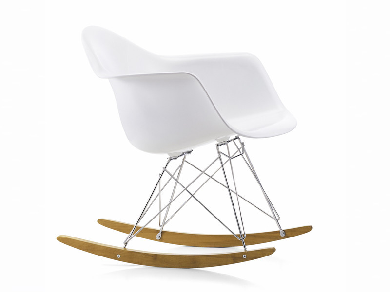 Buy the vitra rar eames plastic rocking chair at nest.co.uk