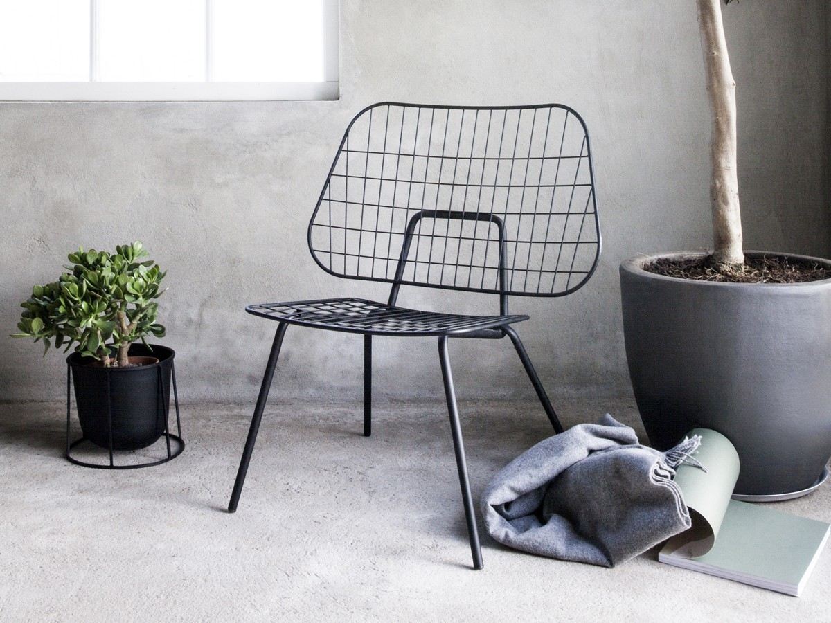 Buy The Menu Wm String Lounge Chair At Nest Co Uk