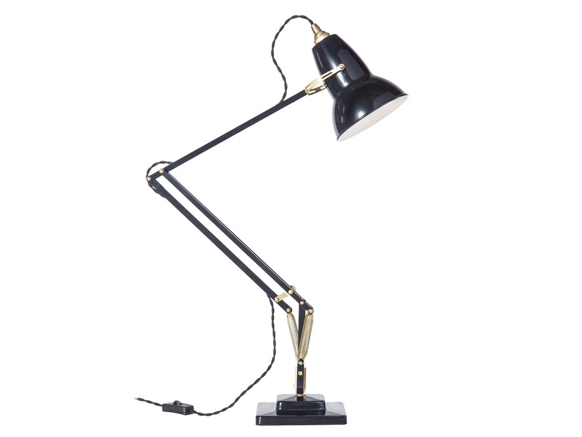 buy the anglepoise original 1227 brass desk lamp at. Black Bedroom Furniture Sets. Home Design Ideas