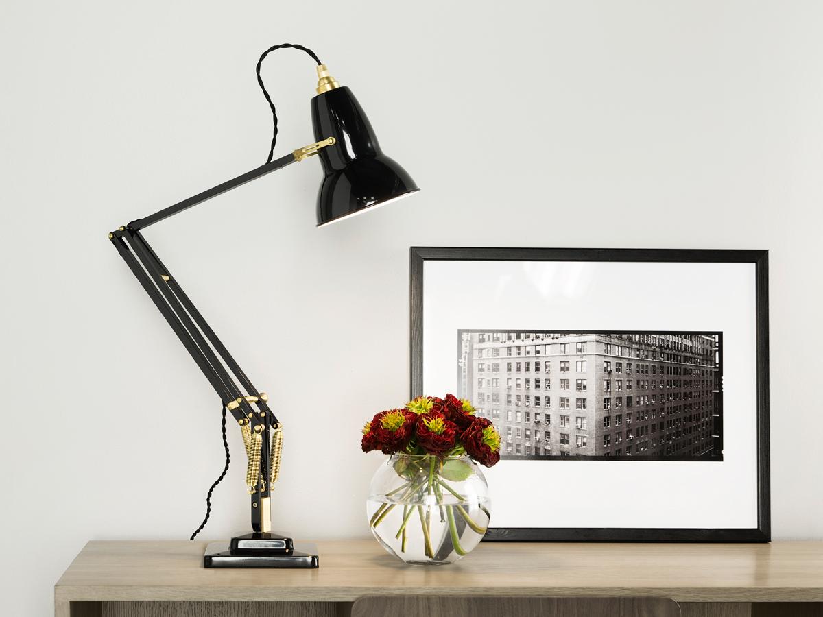 Buy the Anglepoise Original 1227 Brass Desk Lamp at Nest.co.uk