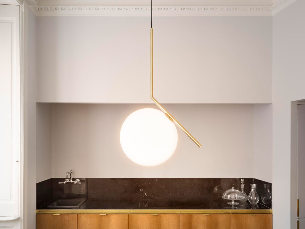 Buy the flos ic s2 suspension light at for Flos bathroom light