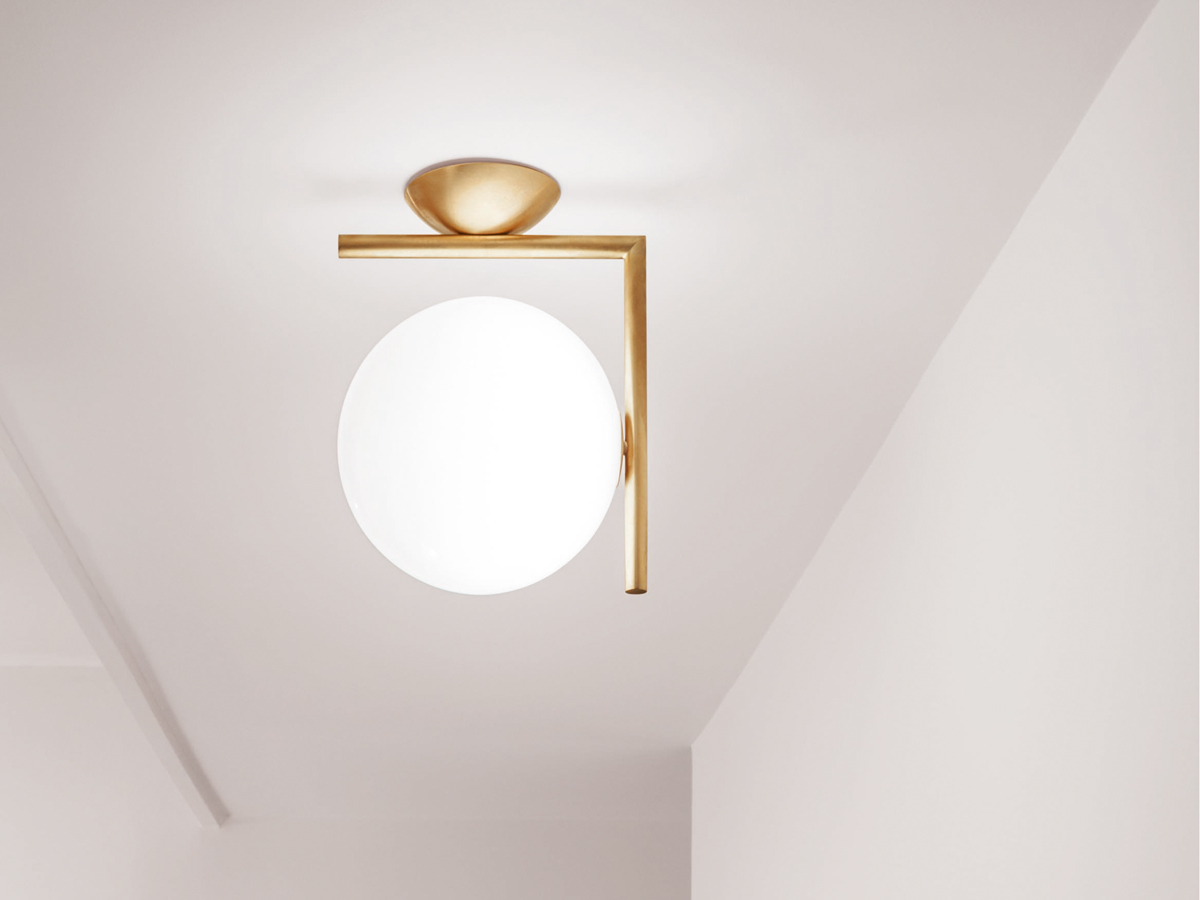 Buy the flos ic c w1 wall light at for Flos bathroom light