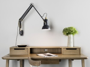 Wall Mounted Lamp Buy The Anglepoise Original 1227 Brass Wall Mounted Lamp At Nest.co.uk