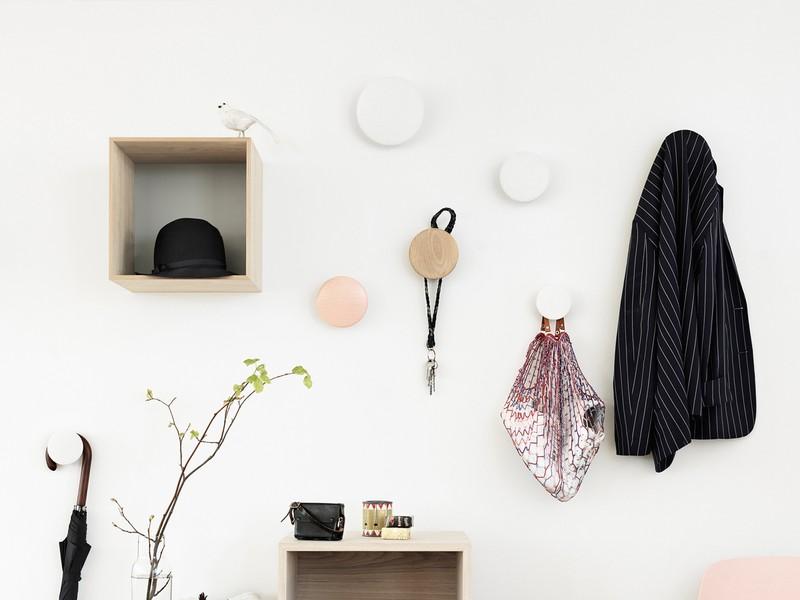 Buy the Muuto The Dots Coat Hooks at Nest.co.uk