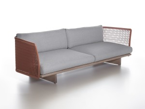 View Kettal Mesh Three Seater Sofa