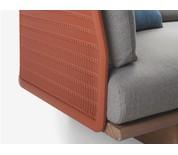 Kettal Mesh Three Seater Sofa