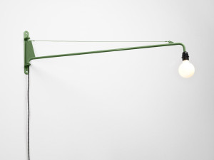 View Vitra Prouve RAW Office Edition Petite Potence Wall Light