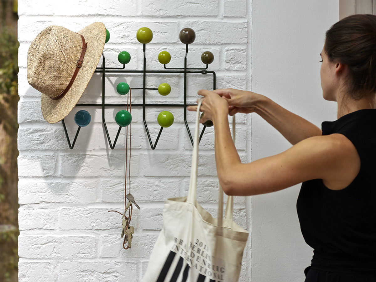 buy the vitra eames hang it all green at. Black Bedroom Furniture Sets. Home Design Ideas