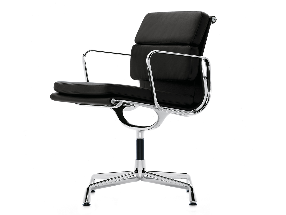 Buy the vitra eames ea 208 soft pad chair at for Eames chair vitra replica