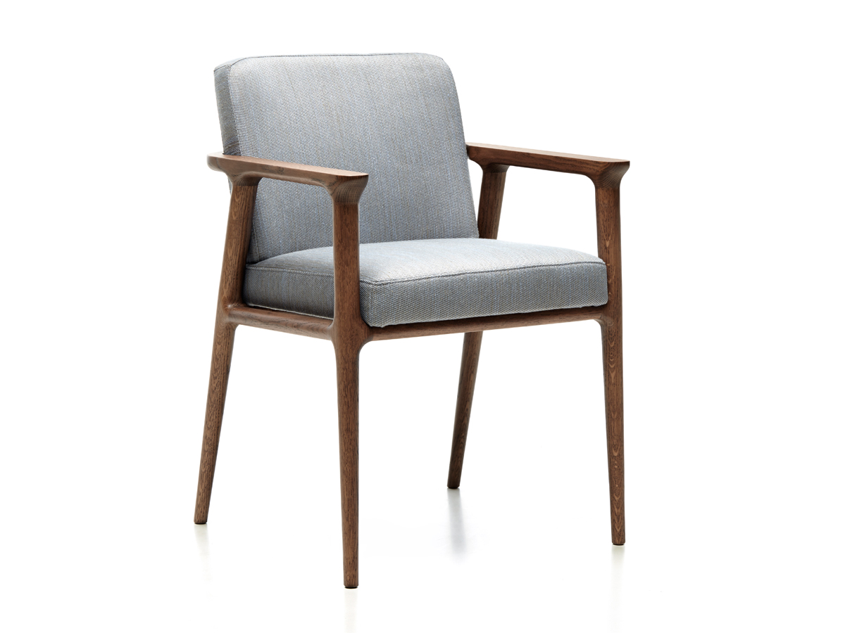 Buy the moooi zio dining chair cinnamon at nest
