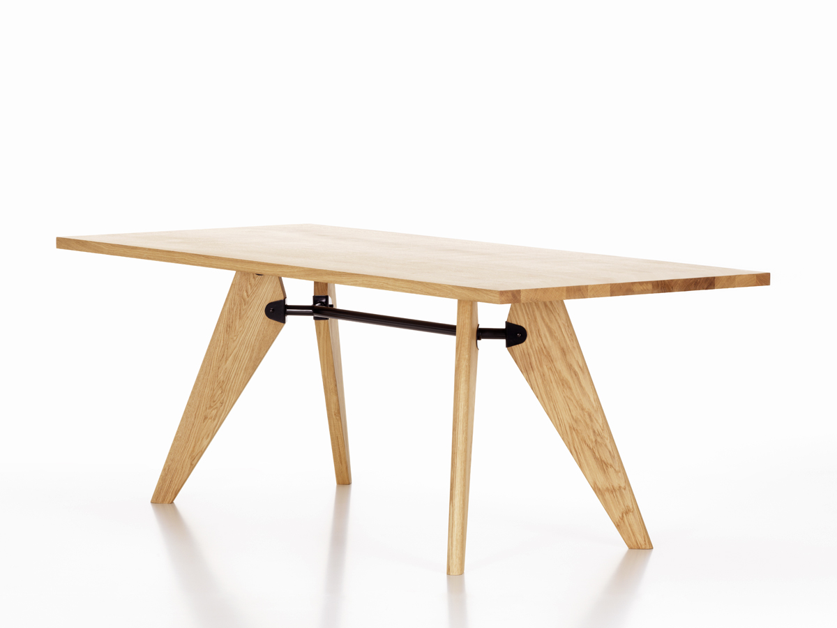 buy the vitra table solvay natural oak at. Black Bedroom Furniture Sets. Home Design Ideas