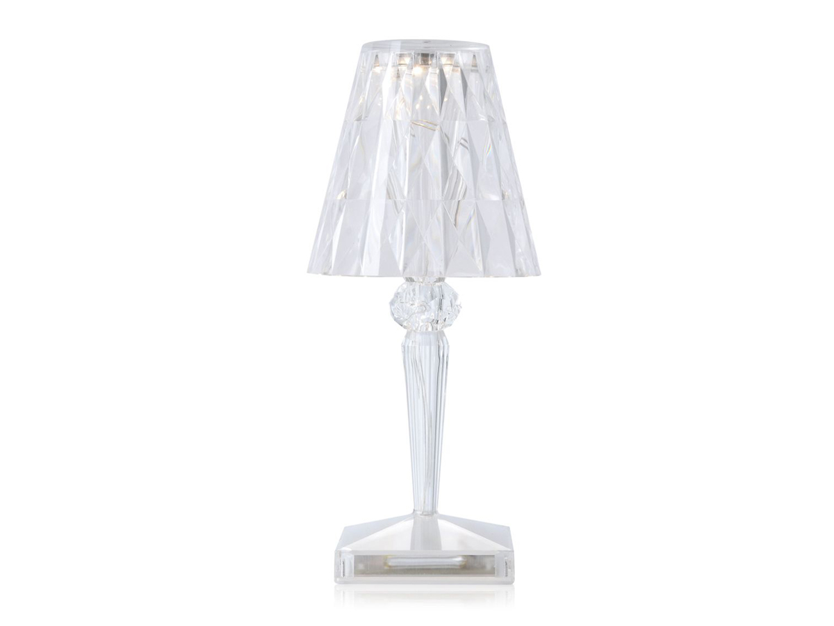 buy the kartell battery table lamp at. Black Bedroom Furniture Sets. Home Design Ideas