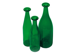 View Cappellini 3 Green Bottles