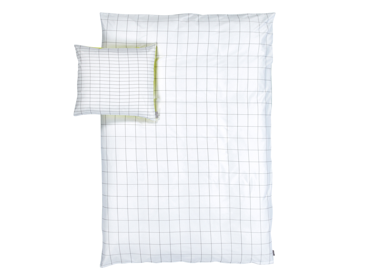 Buy the Hay Minimal Collection Bed Linen Lemon at Nest.co.uk