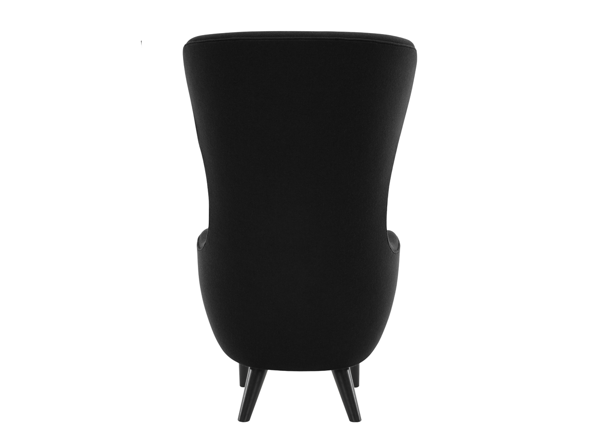 Wingback Chair Buy The Tom Dixon Wingback Chair Black At Nestcouk