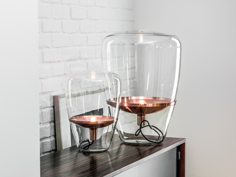 Brokis Balloons Table Lamp Copper