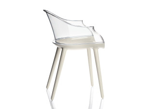 View Magis Cyborg Armchair White Base