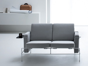 View Magis Traffic Two Seater Sofa Light Grey