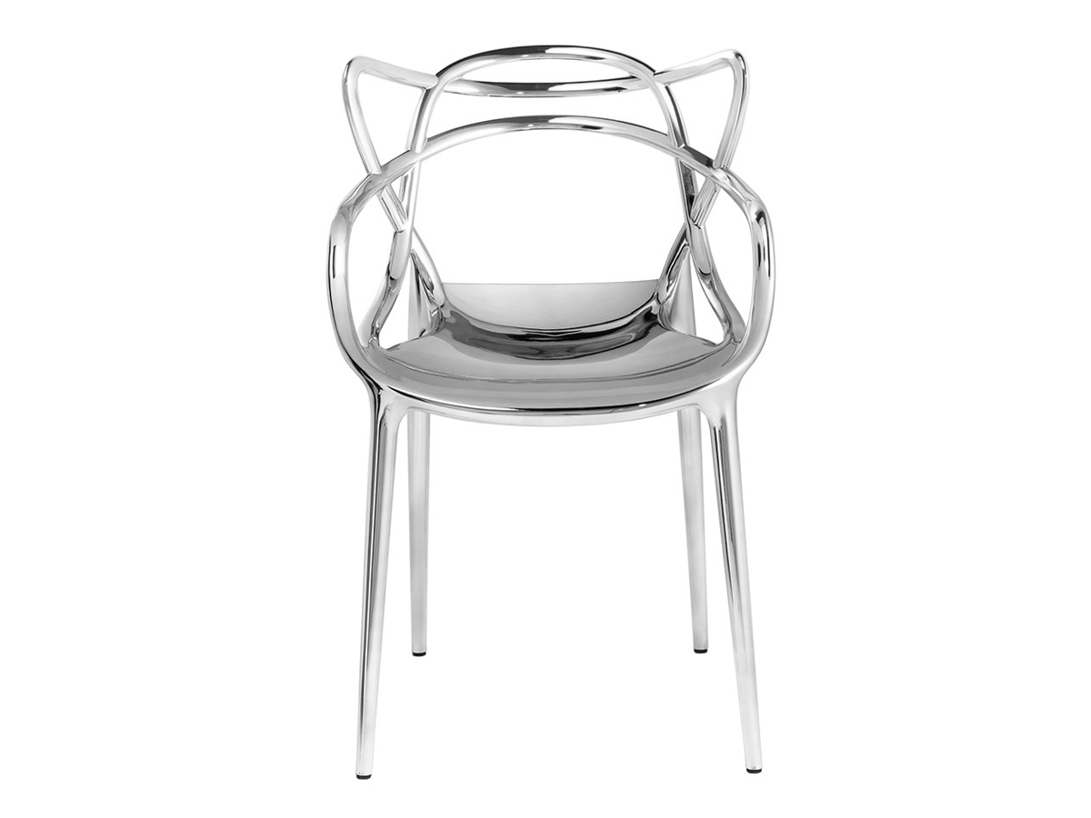 buy the kartell masters chair metallic at nestcouk - kartell masters chair metallic