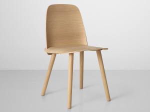 Muuto Nerd Chair Natural Oak