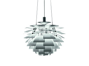 View Louis Poulsen PH Artichoke Suspension Light Steel Brushed