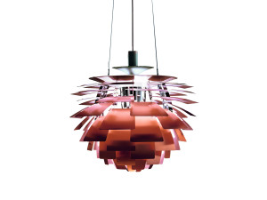 View Louis Poulsen PH Artichoke Suspension Light Copper