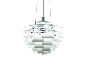 View Louis Poulsen PH Artichoke Suspension Light White