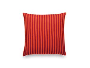 View Vitra Classic Pillow Toostripe Orange and Crimson