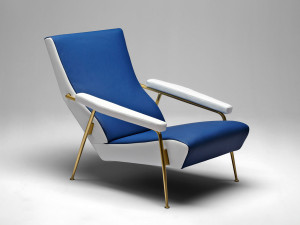 View Molteni&C Gio Ponti D.153.1 Armchair Leather