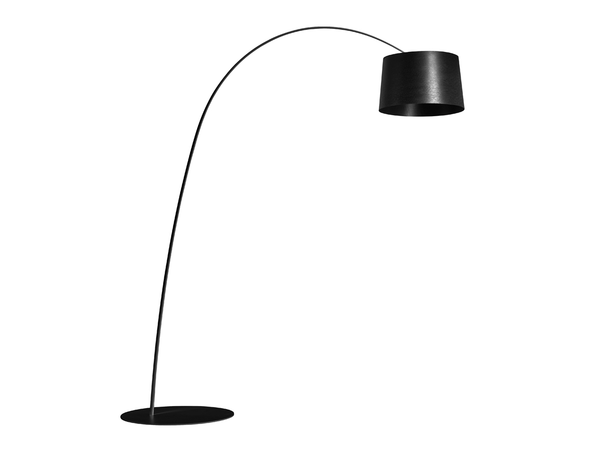 Buy the Foscarini Twiggy Floor Lamp Black at Nest.co.uk