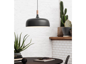 Northern Lighting Acorn Pendant Grey
